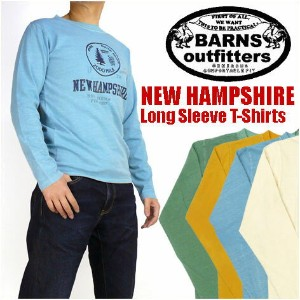 BARNS (バーンズ) -長袖Tシャツ/NEW HAMPSHIRE- BR-5154 【smtb-k】【ky】プレゼント ギフト