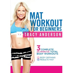 SALE OFF!新品北米版DVD!Tracy Anderson: Mat Workout for Beginners! トレーシー・アンダーソン