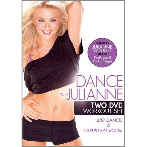 SALE OFF!新品北米版DVD!Dance with Julianne: TWO DVD WORKOUT SET! ジュリアン・ハフ
