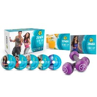 SALE OFF!新品DVD!Zumba Tone Up 5 DVD System! ズンバ (トーニングステイック付き)