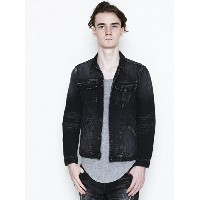 【SALE/40%OFF】NUMBER (N)INE FLY FLONT STRETCH DENIM JACKET ナンバーナイン コート/ジャケット【RBA_S】【RBA_E】【送料無料】