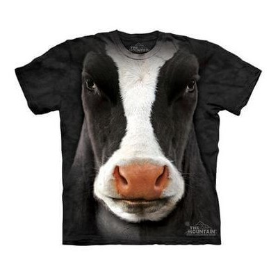The Mountain Tシャツ Black Cow Face (ウシ 牛 キッズ 子供用)【輸入品】半袖
