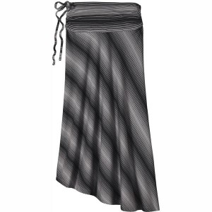 パタゴニア レディース スカート ボトムス Patagonia Kamala Skirt - Women's Reflection Stripe/Feather Grey