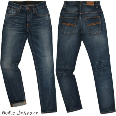 Nudie Jeans co/ヌーディージーンズTHIN FINN/シンフィン TIGHT FIT, NORMAL WAIST, LOW YOKE, NARROW LEG, OPENING ZIP...