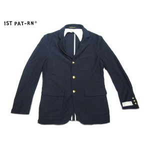 【期間限定30%OFF!】1ST PAT-RN(FIRST PATTERN/ファーストパターン)/COTTON VITTORIO VENETO JACKET/blu navale