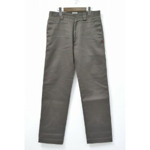 【中古】WTAPS (ダブルタップス) KHAKI TIGHT / TROUSERS. COTTON. WESTPOINT カーキタイト チノパンツ BROWN S ブラウン CHINO PANTS...