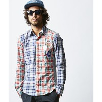 【daboro(ダボロ)】DSH010-001-【AKM×daboro】CRAZY CHECK SHIRTS