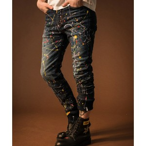 【GLAMB by glamb】GG17AT-P01-Skinny knit denim-スキニーニットデニム