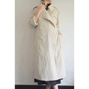 LEMAIRE(ルメール)/TRENCH COAT WITH SIDE SLIT トレンチコート