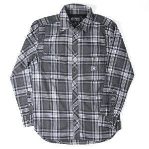 CROOKS&CASTLES フランネルチェックシャツ Pinchay Ombre Plaid Flannel 【marquee】