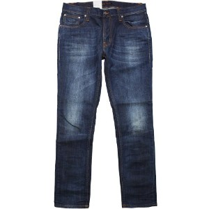 NUDIE JEANS / TAPE TED ORG WHITE KNEE ヌーディージーンズ テープテット