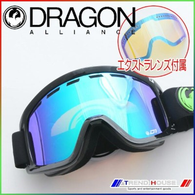 ドラゴン ゴーグル D1 JET/GREEN ION+YELLOW BLUE ION 722-4901 DRAGON
