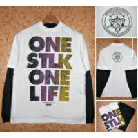STYLE KEY [スタイルキー] Tシャツ+ロンTセットSK09FA-WTS03 ONE LIFE W-TEE SET
