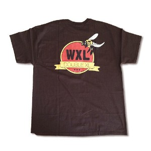 RHC Ron Herman (ロンハーマン): WXL (ダブルXL) Carpenter bee logo Tシャツ Brown