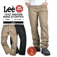 15%OFF大特価です!Lee リー LM4101 AMERICAN RIDERS 101Z TWILLパンツ WIND STOPPER《WIP》 男性 春 ギフト プレゼント