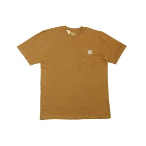 Carhartt WORKWEAR POCKET T-SHIRTS (BROWN)カーハート/Tシャツ/茶色