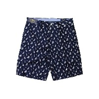 POLO RALPH LAUREN CLASSIC-FIT SAILBOAT SHORTS (710595534001: STARBOARD)ポロラルフローレン/ショーツ/紺