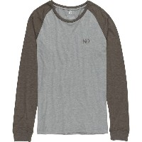 テンツリー メンズ Tシャツ トップス Tentree Gecko T-Shirt - Men's Heather Grey/Bungee Cord