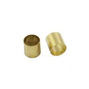 Allparts Pack of 5 Brass Pot Sleeves/4001