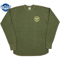 """BUZZ RICKSON'S/バズリクソンズ L/S THERMAL T-SHIRT""""U.S. ARMY AIR FORCES"""" USアーミーエアフォース、プリント入り長袖サーマルTシャツ..."""