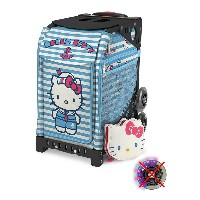 【SAC'S BAR】キャリーケース ZUCA SPORT ズーカ 142004 Hello Kitty Sail With Me Black(NonFlashWheel) メンズ