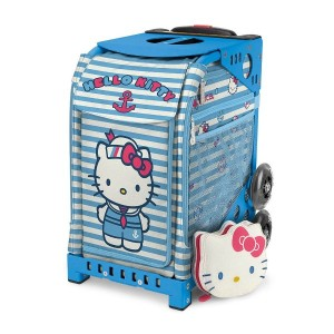 【SAC'S BAR】キャリーケース ZUCA SPORT ズーカ 142004 Hello Kitty Sail With Me Blue メンズ