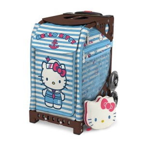 【SAC'S BAR】キャリーケース ZUCA SPORT ズーカ 142004 Hello Kitty Sail With Me Brown メンズ