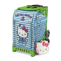 【SAC'S BAR】キャリーケース ZUCA SPORT ズーカ 142004 Hello Kitty Sail With Me Green メンズ