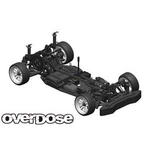 GALM シャーシキット【OD2500】 OVERDOSE [WELD OD2500 GALM シャーシキット]【返品種別B】