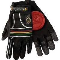 Sector 9 BHNC Slide Gloves L/Xl - Rasta by Sector 9