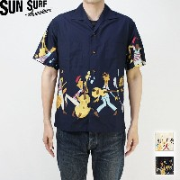 "SUN SURF サンサーフ アロハシャツ2016 LIMITED EDITIONMISTER FREEDOM ""ROCK'N'ROLL SHIRT""SC37310【楽ギフ_包装】【RCP】..."