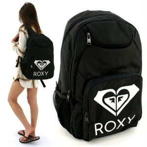 ROXY(ロキシー) バックパック 17L かばん 黒 SHADOW SWELL SOLID (ERJBP03442 KVJ0) ディパック リュック DAYPACK BACKPACK  BAG...