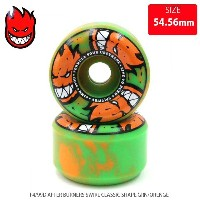 SPITFIRE スピットファイヤー ウィール F4/99D AFTER BURNERS SWIRL CLASSIC SHAPE GRN/ORENGE SFW-766 53.54.56mm WHEEL