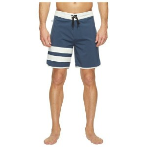 "ハーレー メンズ 水着 水着 Phantom Block Party 2.0 18"" Boardshorts Squadron Blue"