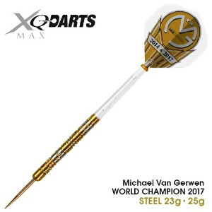 Michael Van Gerwen WORLD CHAMPION2017 STEEL
