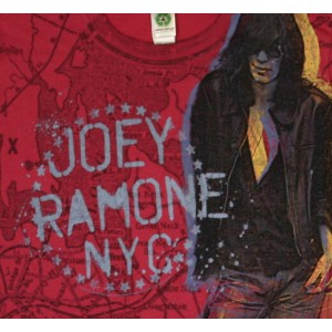 Joey Ramone / Standing Offset Tee (Red)