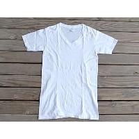 US.ARMY アメリカ製 デッドストック Vネック Tシャツ DEAD STOCK T-SHIRTS ウォッシュ加工 軍物 MADE IN USA