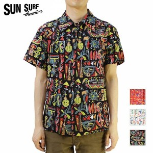 "SUN SURF サンサーフ アロハシャツ2016 SPECIAL EDITIONKEONI OF HAWAII""TiKi ViLLAGE"" by Mookie SatoSS37333【楽ギフ_包装..."