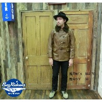 No.BR80418 BUZZ RICKSON'S バズリクソンズAVIATION ASSOCIATESAVIATION LEATHER COAT