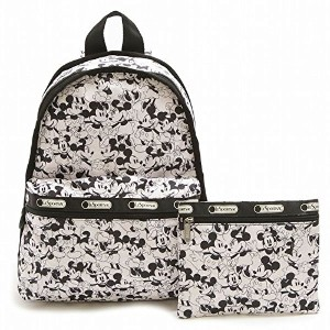 LeSportsac 7812-P928 BASIC BACKPACK ディズニー ベーシック リュックサック MICKEY LOVES MINNIE/レスポートサック 並行輸入品