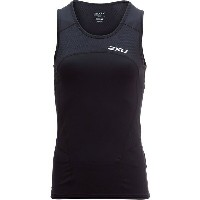 2XU レディース サイクリング スポーツ 2XU Active Singlet Tri Top - Women's Black/Black