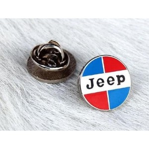 Jeep Red ピンバッチ・ピンズ アメリカ雑貨 アメリカン雑貨