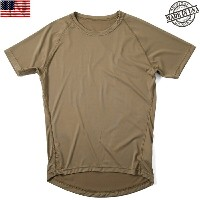 10%OFFクーポン対象◆実物 新品 米軍 PCU LEVEL1 Tシャツ COYOTE BROWN(ラグラン) ミリタリー トップス アメリカ軍 【ミリタリー】 ギフト プレゼント 新生活...