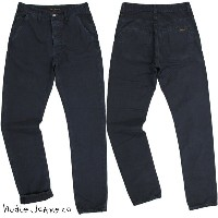 Nudie Jeans co/ヌーディージーンズ TAPE NICK/テープニック Regular fit,Button fly INK BLUE(インクブルー)