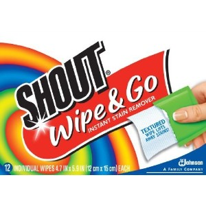 Shout Wipes by SC Johnson