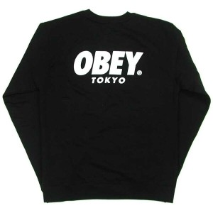 OBEY(オベイ) CAPSULE COLLECTION 'TOKYO' BASIC CREW NECK FLEECE(スウェット・シャツ)