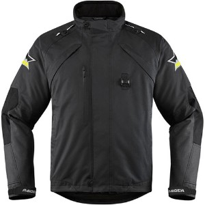 【28203765】 MEN'S RAIDEN DKR MONOCHROMATIC WATERPROOF JACKETS Black S/M/L/XL/2XL/3XL/4XL ハーレーアパレル