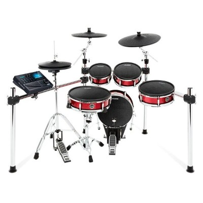 ALESIS Strike Kit [Eight-Piece Professional Electronic Drum Kit with Mesh Heads] ※ドラムペダル、ハイハット...