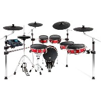 ALESIS Strike Pro Kit [Eleven-Piece Professional Electronic Drum Kit with Mesh Heads] ※ドラムペダル、ハイハット...