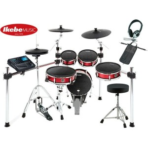 ALESIS Strike Kit [Eight-Piece Professional Electronic Drum Kit with Mesh Heads] 【ドラムペダル&ハイハット・スタンド...